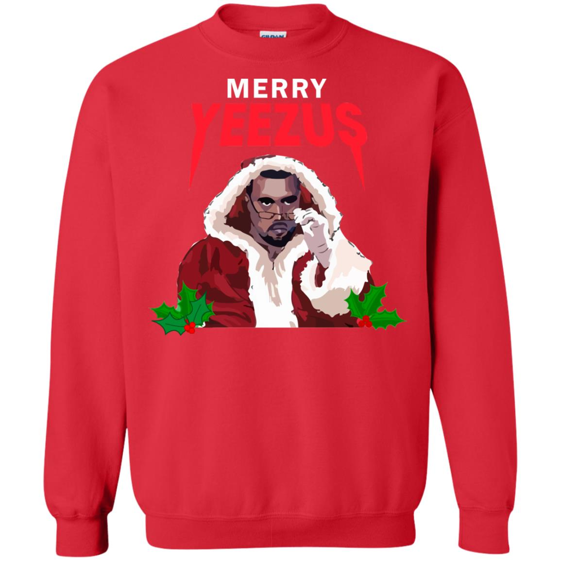 Kanye Merry Yeezus Christmas Sweater, Hoodie - Rockatee