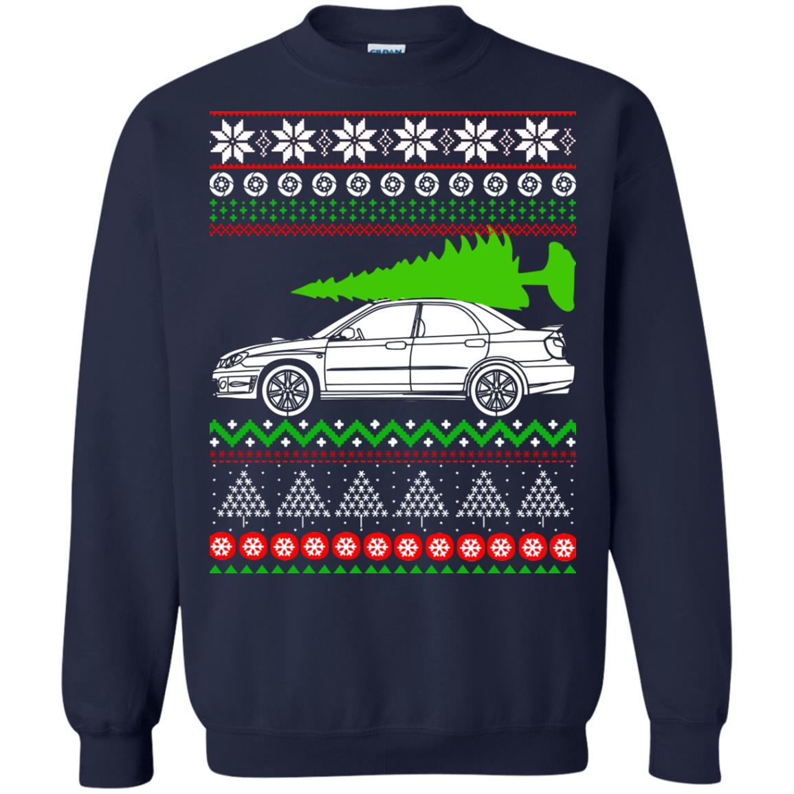 image 6674 - Subaru WRX STI hawkeye Christmas Sweater, Hoodie