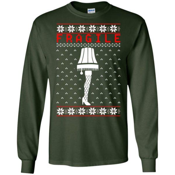 image 6752 600x600 - Christmas Story Fragile The Leg Lamp Ugly Sweater, Long Sleeve