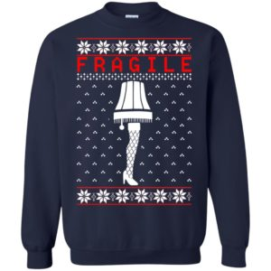 image 6758 300x300 - Christmas Story Fragile The Leg Lamp Ugly Sweater, Long Sleeve
