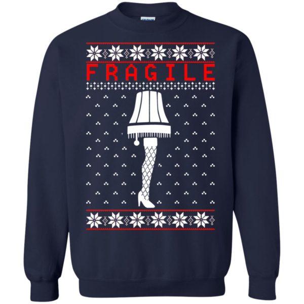 image 6758 600x600 - Christmas Story Fragile The Leg Lamp Ugly Sweater, Long Sleeve