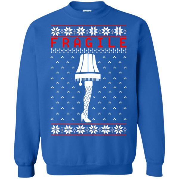 image 6761 600x600 - Christmas Story Fragile The Leg Lamp Ugly Sweater, Long Sleeve
