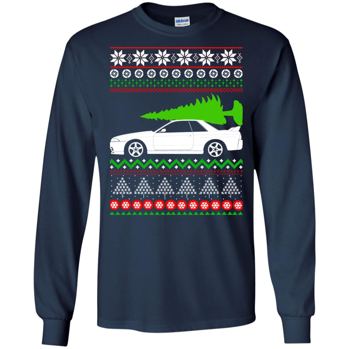 Nissan Skyline GTR R32 Godzilla Christmas Sweater, Hoodie ...