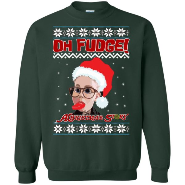 image 6868 600x600 - Oh, Fudge A Christmas Story Ugly Sweater, Hoodie