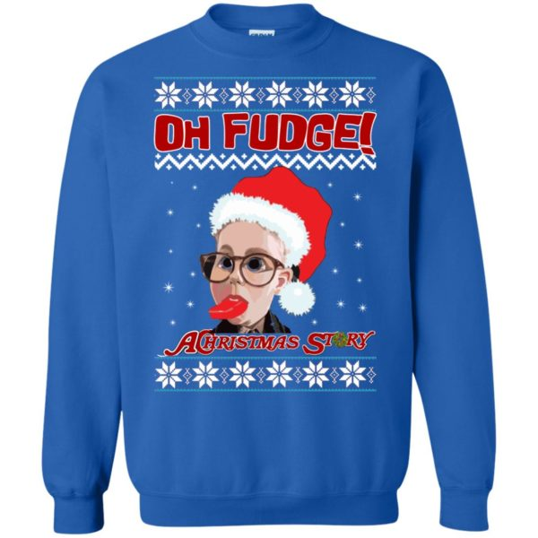 image 6869 600x600 - Oh, Fudge A Christmas Story Ugly Sweater, Hoodie