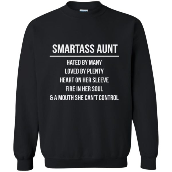 image 6925 600x600 - Smartass Aunt Hated By Many loved By Plenty Shirt, Tank