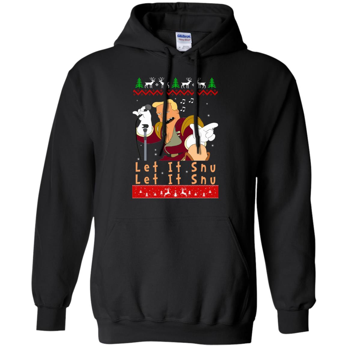 image 715 - Zapp Brannigan Let It Snu Christmas Sweatshirt, Hoodie