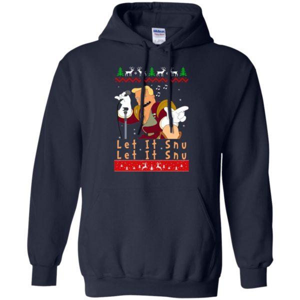 image 716 600x600 - Zapp Brannigan Let It Snu Christmas Sweatshirt, Hoodie