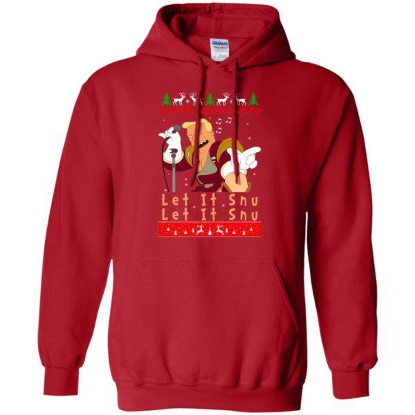 image 717 600x600 - Zapp Brannigan Let It Snu Christmas Sweatshirt, Hoodie