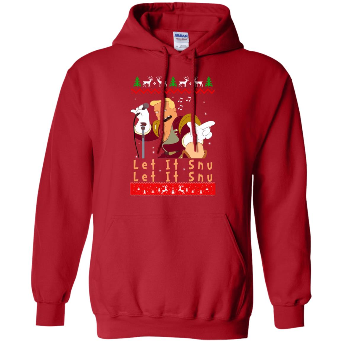 image 717 - Zapp Brannigan Let It Snu Christmas Sweatshirt, Hoodie