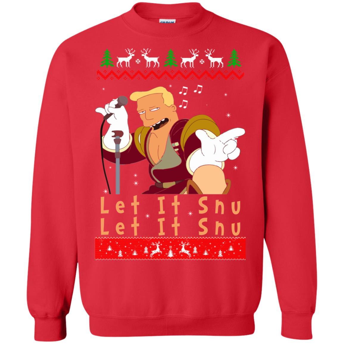 image 720 - Zapp Brannigan Let It Snu Christmas Sweatshirt, Hoodie