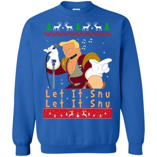 image 722 600x600 - Zapp Brannigan Let It Snu Christmas Sweatshirt, Hoodie
