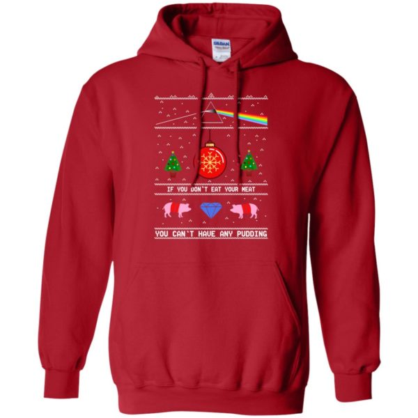 image 741 600x600 - Pink Floy: If You Don't Eat Your Meat Christmas Sweatshirt, Ugly Sweater