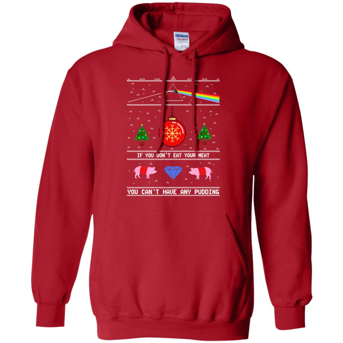 image 741 - Pink Floy: If You Don't Eat Your Meat Christmas Sweatshirt, Ugly Sweater