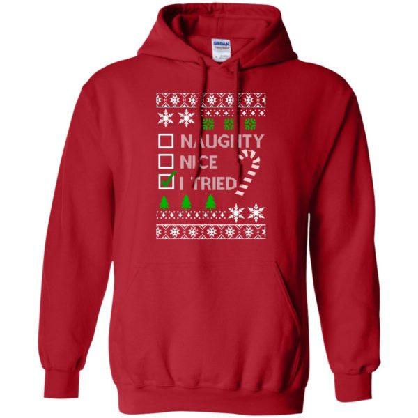 image 765 600x600 - Naughty Nice Tired Christmas Sweater, Shirt