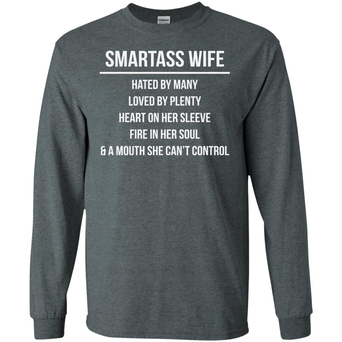 image 981 - Smartass Wife Shirt: Hated By Many Loved By Plenty