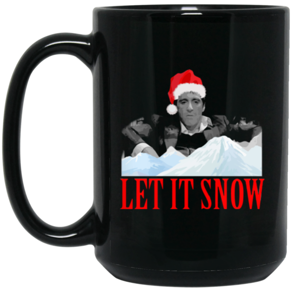 image 1 600x600 - Let it snow mug