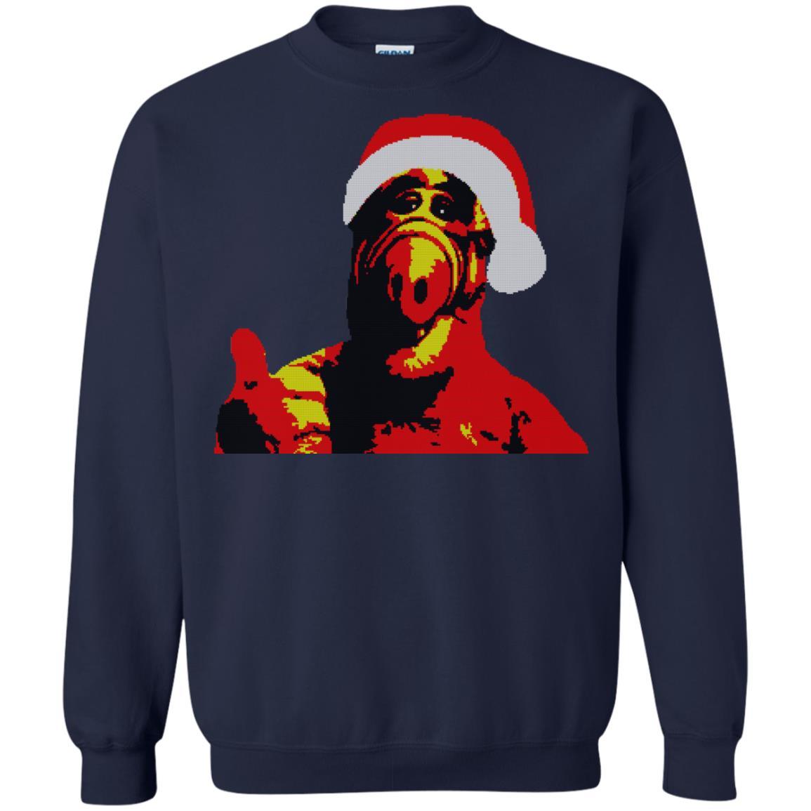 image 1030 - ALF Christmas Sweater, Hoodie, Long Sleeve