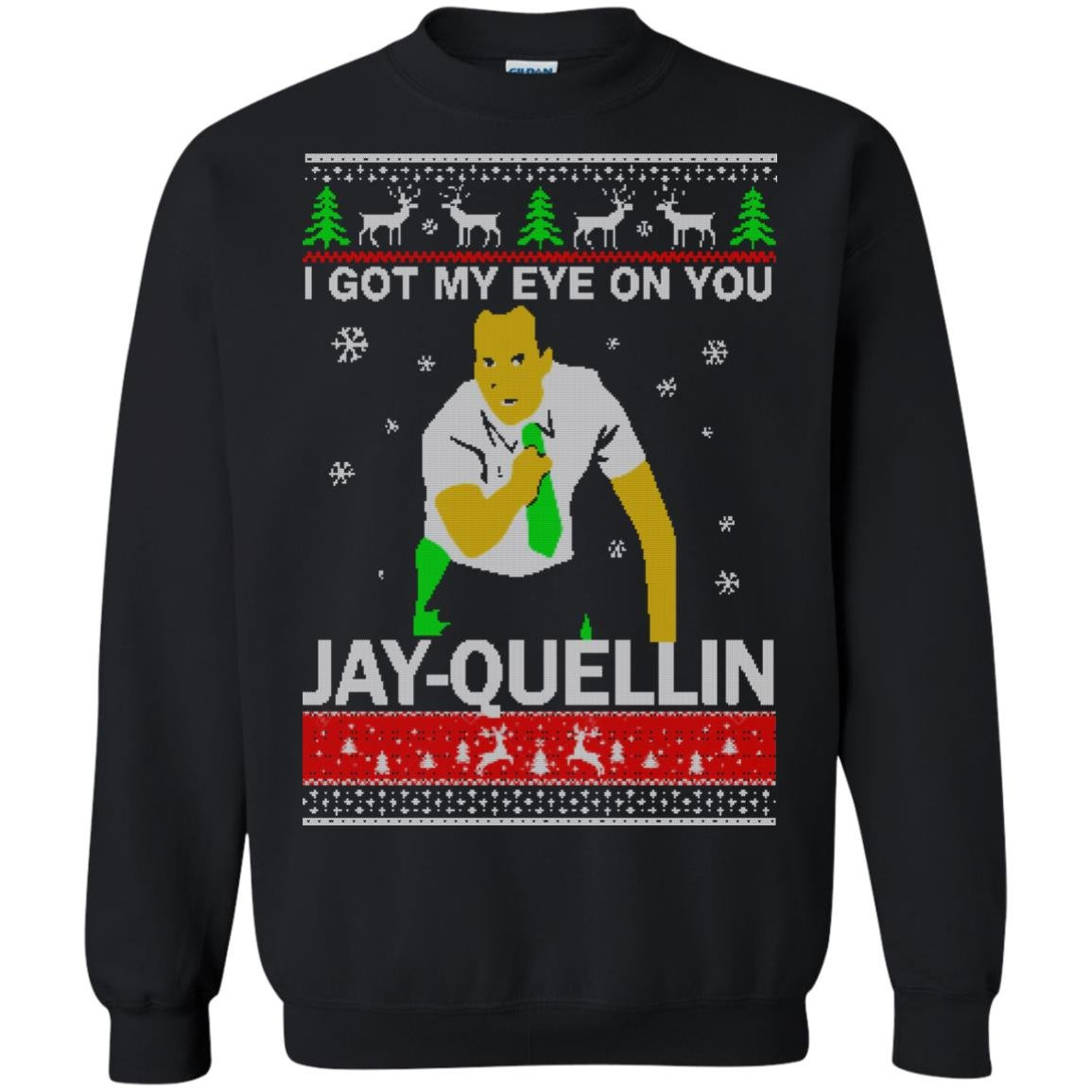 image 1041 - Key & Peele: I Got My Eye On You Jay-Quellin Christmas Sweater