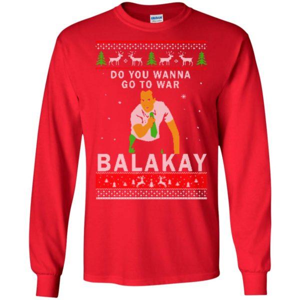 image 1060 600x600 - Key & Peele: Do You Wanna Go To War Balakay Christmas Sweater, Shirt