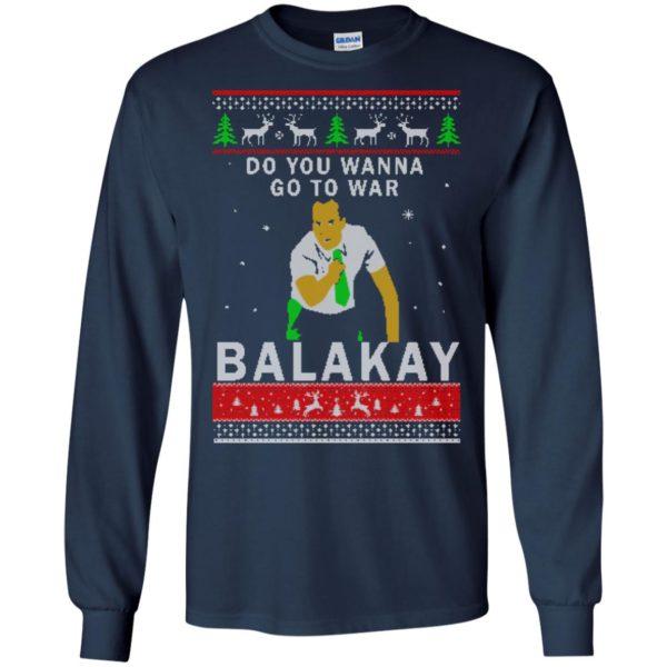 image 1061 600x600 - Key & Peele: Do You Wanna Go To War Balakay Christmas Sweater, Shirt