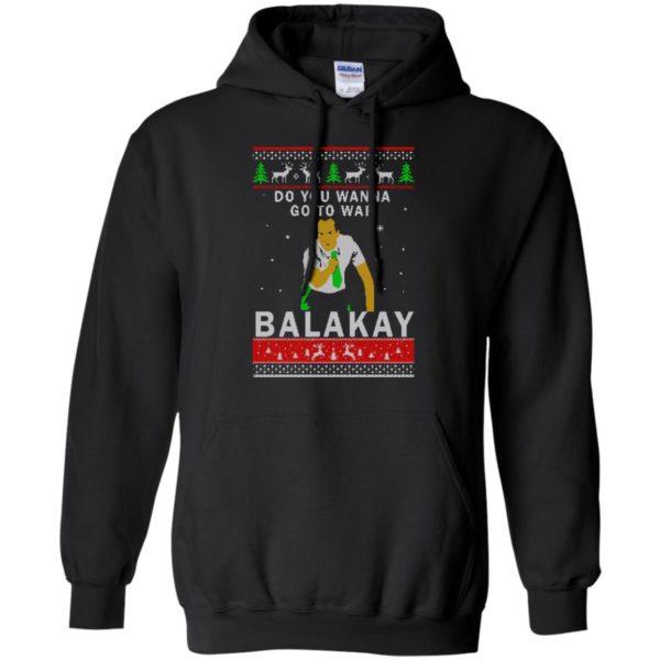 image 1062 600x600 - Key & Peele: Do You Wanna Go To War Balakay Christmas Sweater, Shirt
