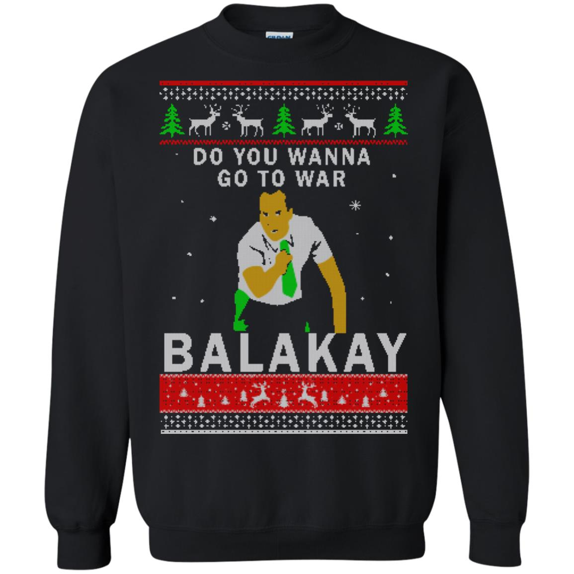image 1065 - Key & Peele: Do You Wanna Go To War Balakay Christmas Sweater, Shirt