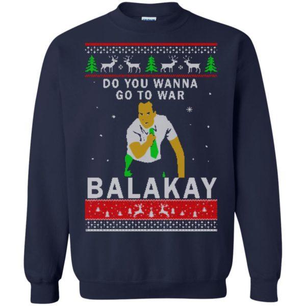 image 1066 600x600 - Key & Peele: Do You Wanna Go To War Balakay Christmas Sweater, Shirt
