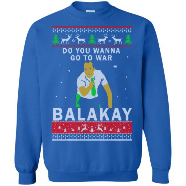 image 1069 600x600 - Key & Peele: Do You Wanna Go To War Balakay Christmas Sweater, Shirt