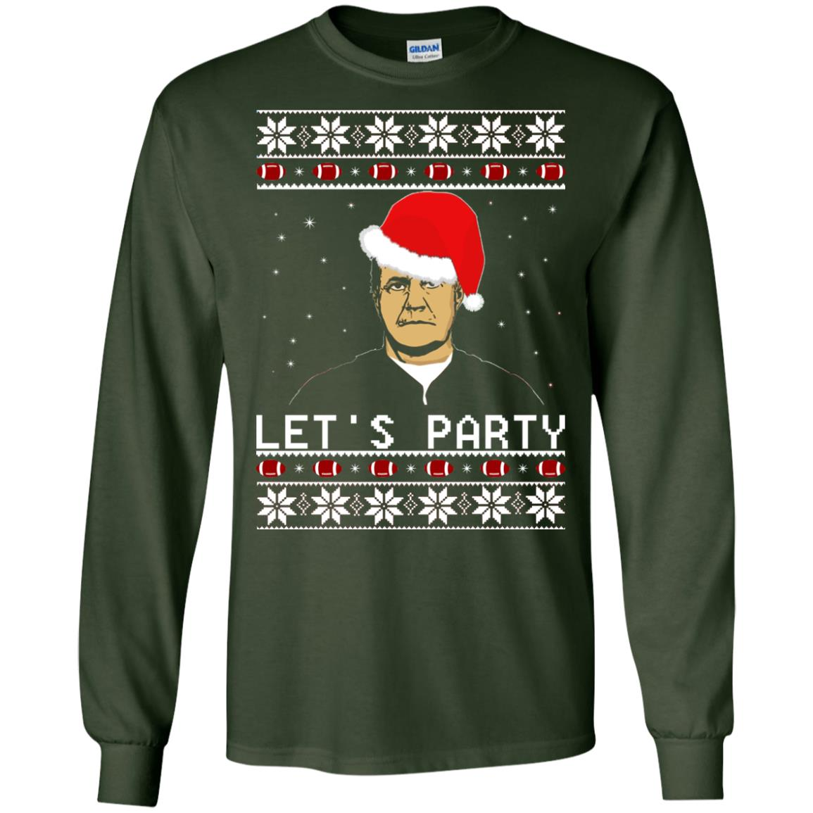 image 126 - Belichick Let's Party ugly sweater, hoodie, long sleeve