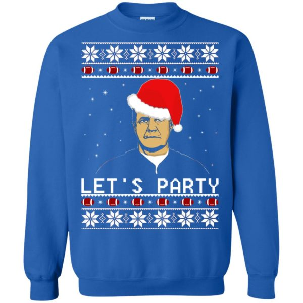 image 135 600x600 - Belichick Let's Party ugly sweater, hoodie, long sleeve
