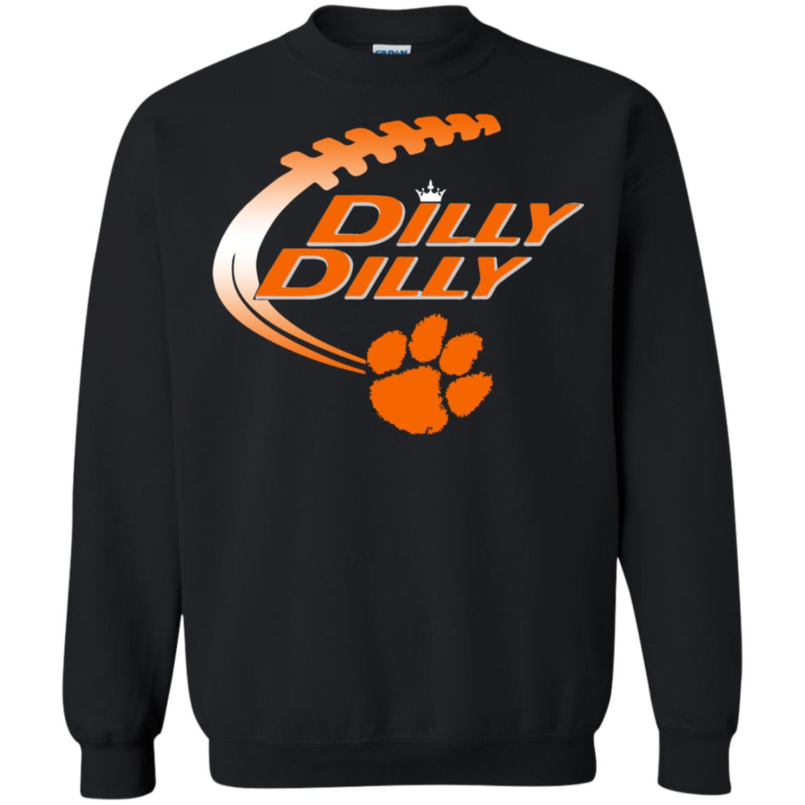 image 1458 - Dilly Dilly Clemson Tigers shirt & sweatshirt