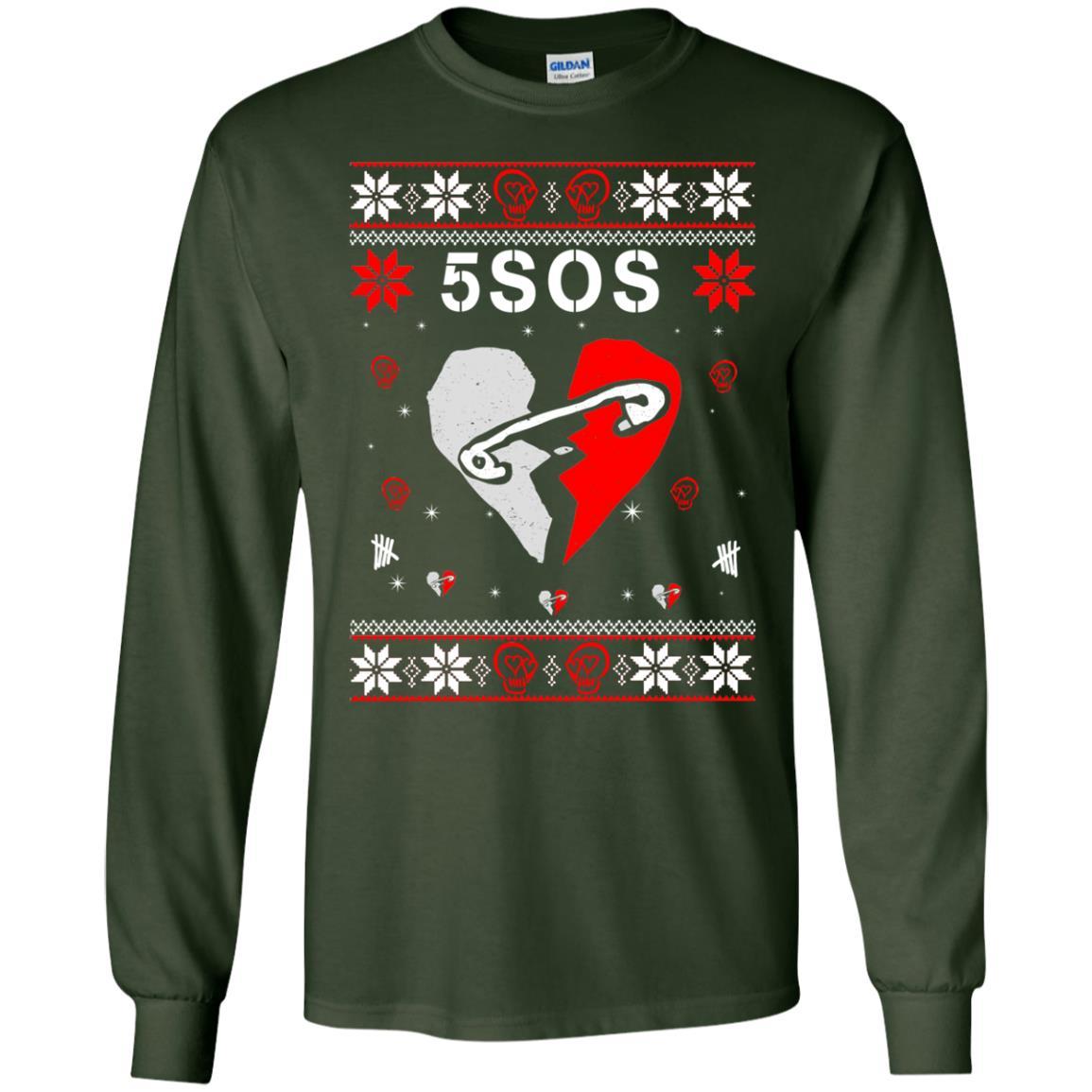 image 150 - 5SOS Christmas Sweater, Ugly Sweatshirts
