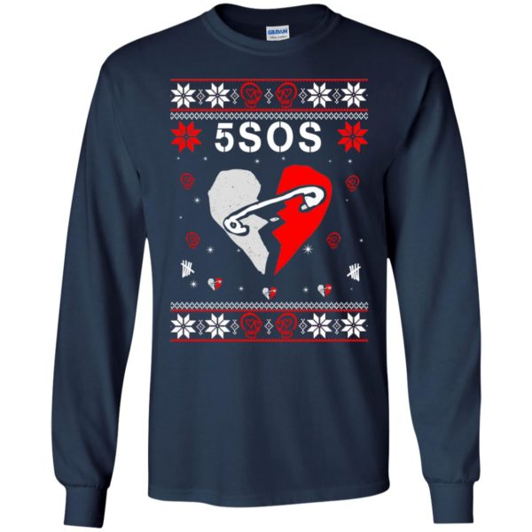 image 152 600x600 - 5SOS Christmas Sweater, Ugly Sweatshirts