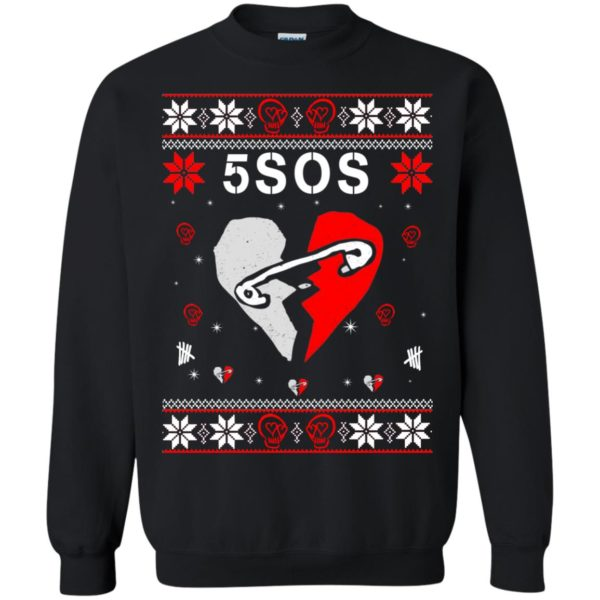 image 155 600x600 - 5SOS Christmas Sweater, Ugly Sweatshirts