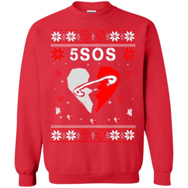 image 157 600x600 - 5SOS Christmas Sweater, Ugly Sweatshirts