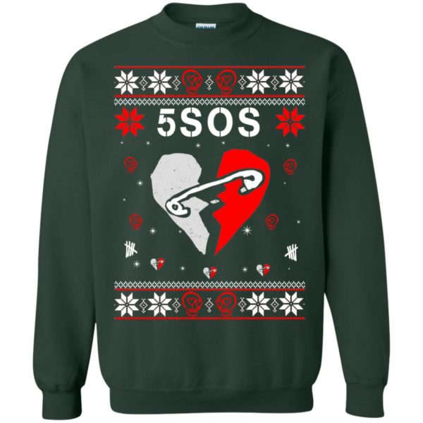 image 158 600x600 - 5SOS Christmas Sweater, Ugly Sweatshirts