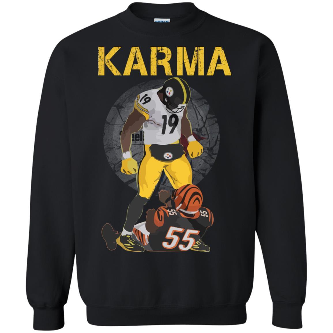 the best attitude d8e08 a5426 Juju Smith-Schuster Karma Vontaze Burfict Shirt, Sweatshirts