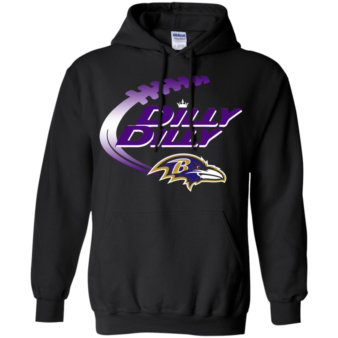 image 1876 - Dilly Dilly Baltimore Ravens Shirt, Hoodie, Long Sleeve