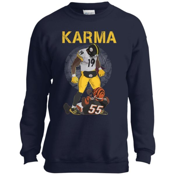 image 2096 600x600 - Steelers Karma Youth shirt, JuJu/Burfict Karma Shirt & Sweatshirts