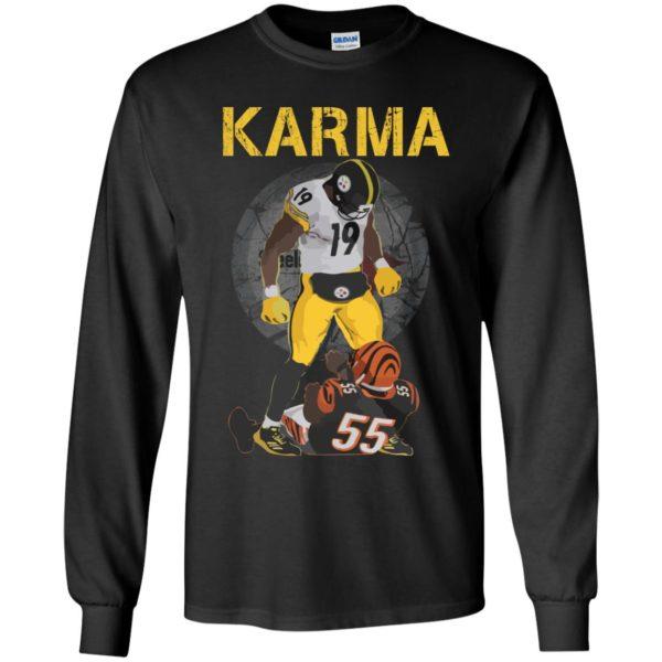 image 2097 600x600 - Steelers Karma Youth shirt, JuJu/Burfict Karma Shirt & Sweatshirts