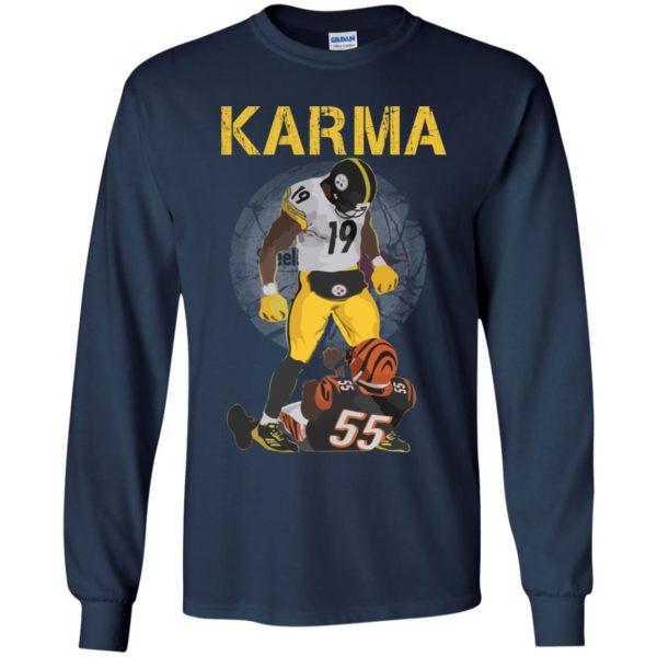 image 2098 600x600 - Steelers Karma Youth shirt, JuJu/Burfict Karma Shirt & Sweatshirts