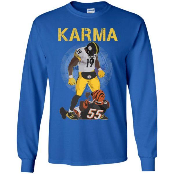 image 2099 600x600 - Steelers Karma Youth shirt, JuJu/Burfict Karma Shirt & Sweatshirts