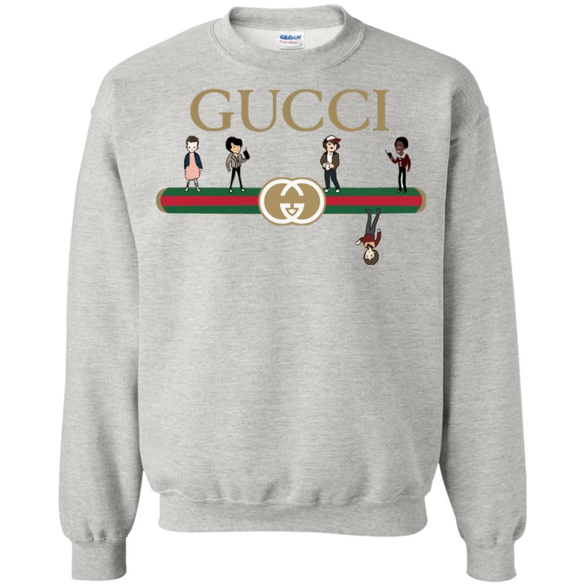 Gucci Stranger Things Sweater Shirt Amp Hoodie Rockatee