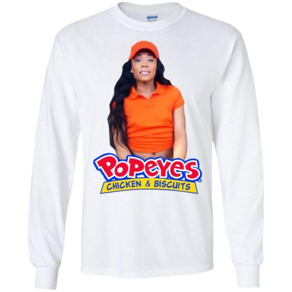 image 2168 600x600 - Yayla Foxx Popeyes Chicken and Biscuits shirt & sweatshirt