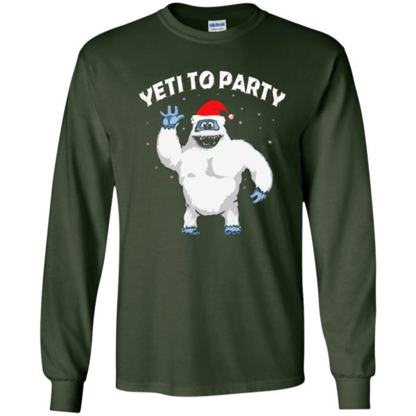 image 26 600x600 - Yeti to Party Christmas Sweater, Hoodie