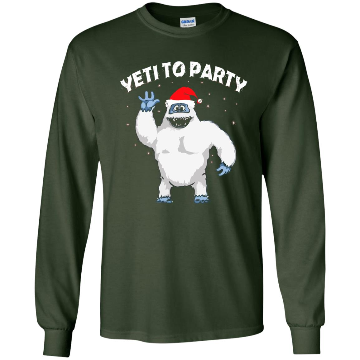 image 26 - Yeti to Party Christmas Sweater, Hoodie