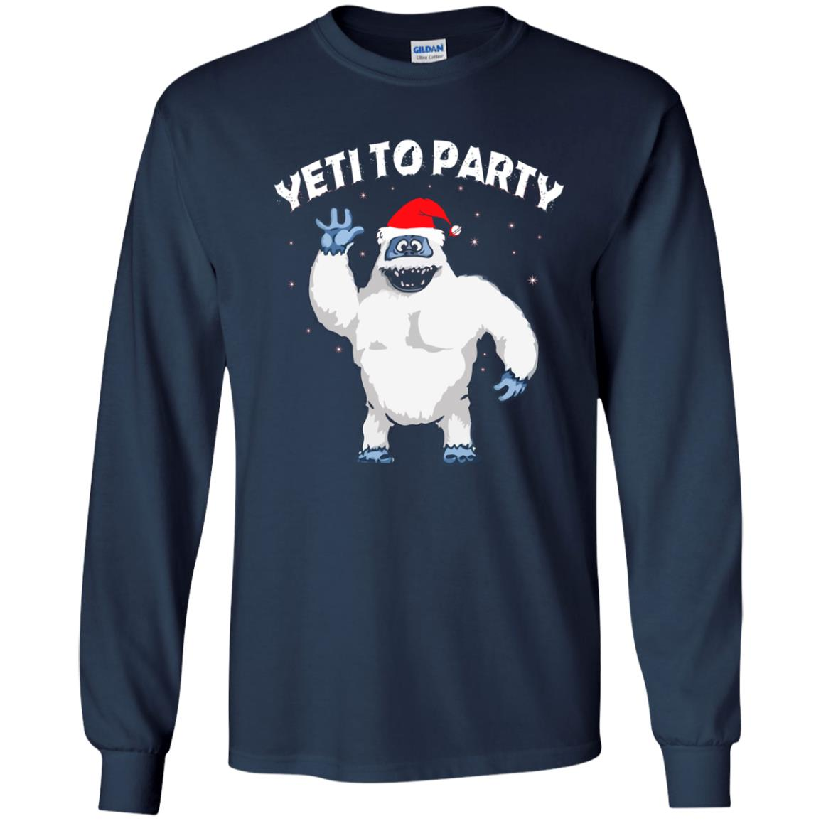 image 28 - Yeti to Party Christmas Sweater, Hoodie