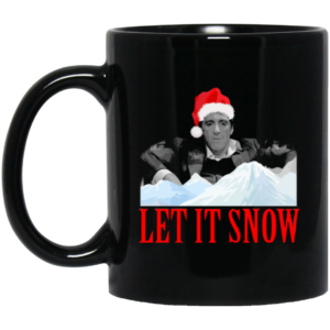 image 300x300 - Let it snow mug