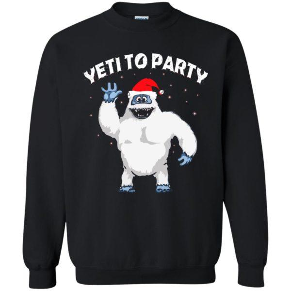 image 31 600x600 - Yeti to Party Christmas Sweater, Hoodie